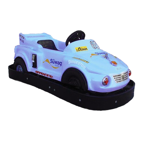 Beginner Drivers Of Tiny Towne Can Drive A Freely Moving Vehicle On The Track Which Is Surrounded By Fence To Ensure Kids Safety